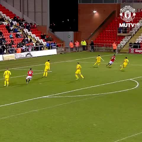 Vine by Manchester United - Paddy McNair finishes like a striker to give the U21s a 2-1 win over Liverpool. #mufc