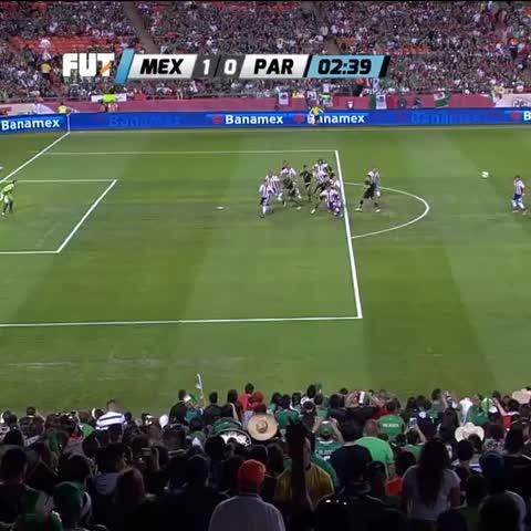 Vine by FEMEXFUT - Eduardo Herrera abrió el marcador al minuto 2 de acción; México (1-0) Paraguay