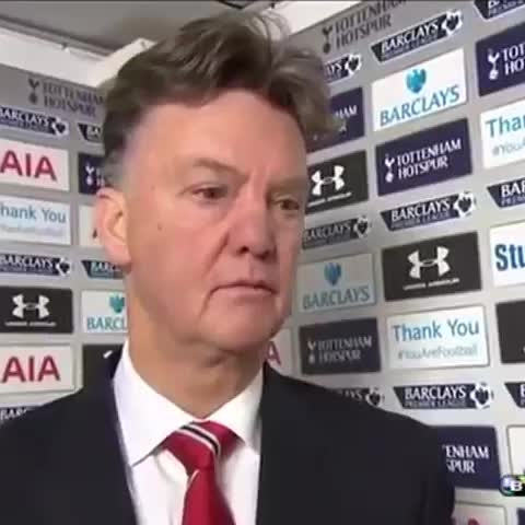 Louis van Gaal at his best when BT Sport reporter asks him about #mufcs January transfer strategy. - Vine by Man Utd Universe - Louis van Gaal at his best when BT Sport reporter asks him about #mufcs January transfer strategy.