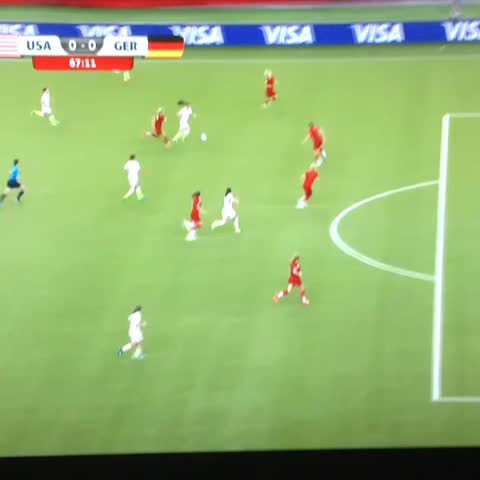 Vine by Andrew Gibney - Penalty #USA. Outside the box though. Alex Morgan brought down