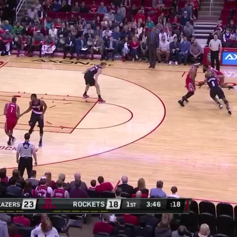 Vine by Bleacher Report - The Beard with the euro step!