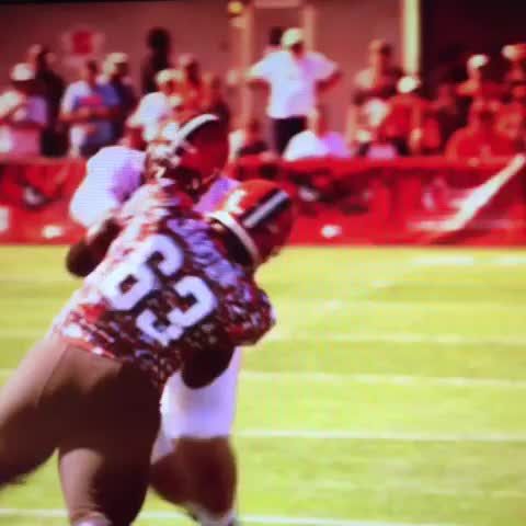 Vine by Kevin Jones - Danny Shelton working