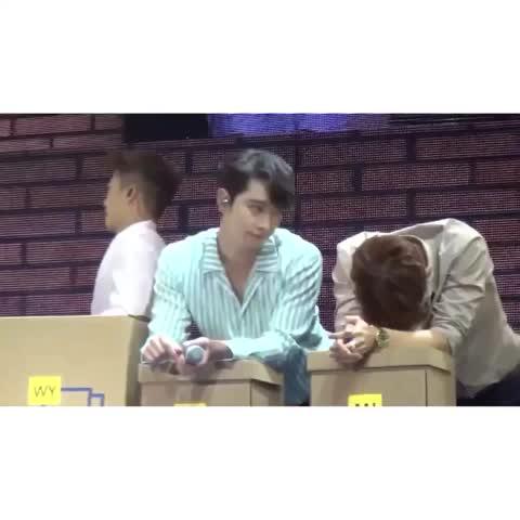 Chansung JunK >< #chansung #jun_k #2PMเป็นวงตลก #2PMFanMeetingInBKK - Vine by aant_ant - Chansung JunK >< #chansung #jun_k #2PMเป็นวงตลก #2PMFanMeetingInBKK