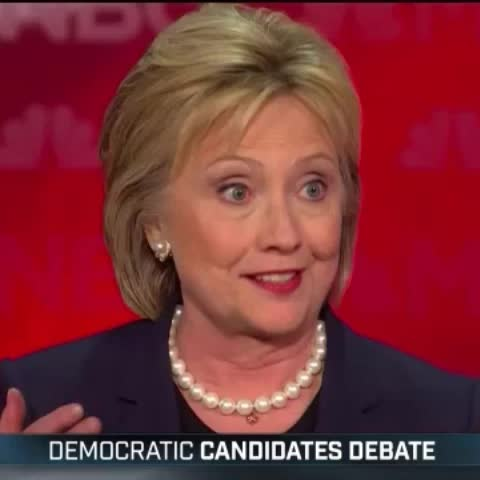 Vine by Free Beacon - This makes absolutely no sense.  #DemDebate