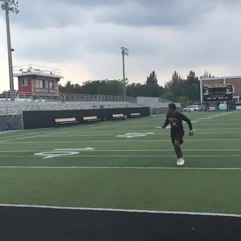 Vine by GridironStuds - #OdellBeckham watch out. 2017 CB Marco Wilson done flipped out #gridironstuds
