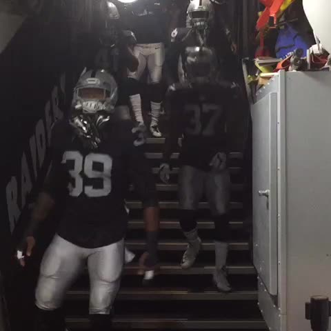 Vine by OAKLAND RAIDERS - The defensive backs are ready to go. #Raiders