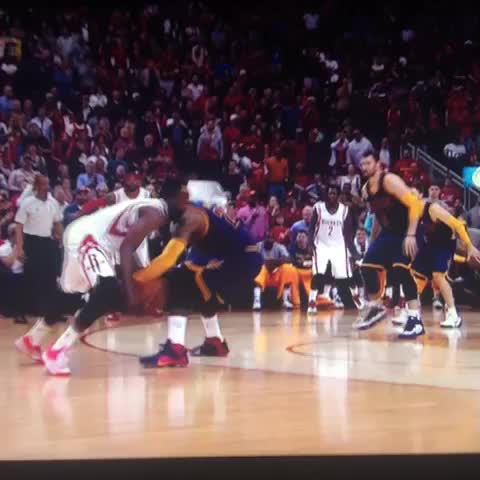 Vine by NBA Legion - What in the world was this? LeBron and Harden....