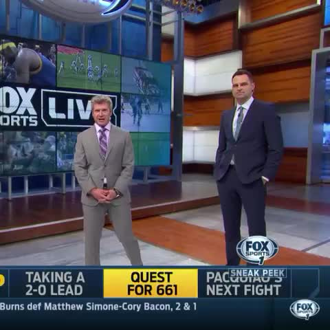Vine by FOXSportsLive - This is a family show Charissa!