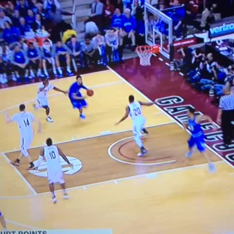 Vine by Big Blue Nation - JAMAL MURRAY WITH THE POSTER. #BBN
