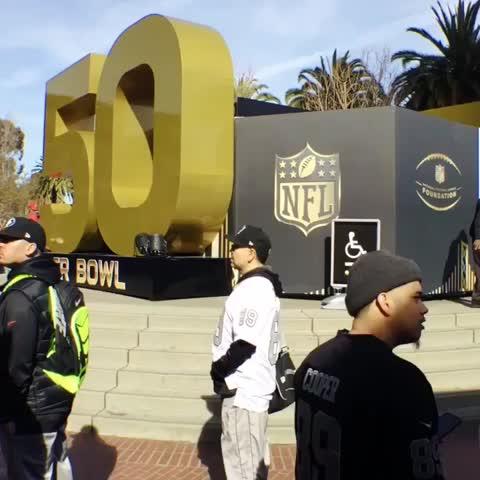 Vine by Denver Broncos - Welcome to Super Bowl City. #SB50