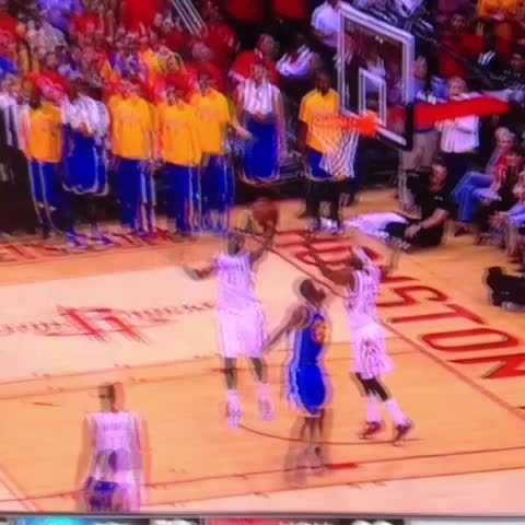 Vine by RealGM - James Harden 3/4 court make after the buzzer.