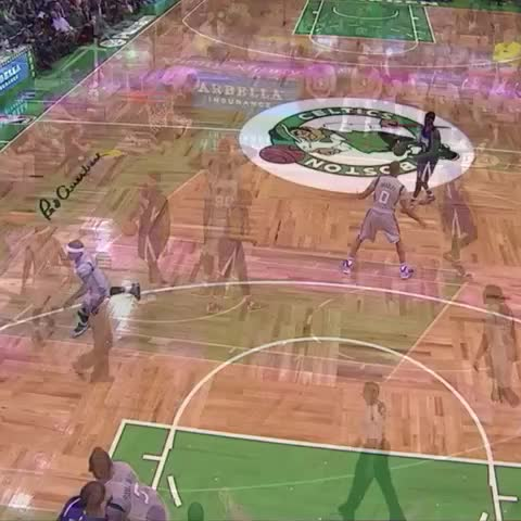 Vine by Bleacher Report - Thomas with the BIG block