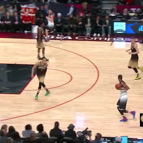 Vine by Lakers - Another ???? for D-LO #NBAAllStarTO 2nd Half on NBA on TNT