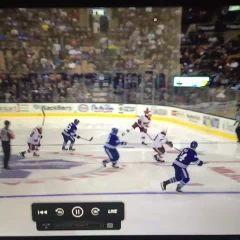 Vine by Left Wing Lock - Jonathan Bernier gives up goal off shot from 140 feet away. #NHL #hockeyvines
