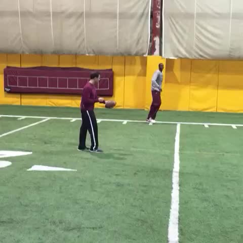 Working on Bakary Konates hands.Dont get any ideas @GopherFootball - Vine by Richard Pitino - Working on Bakary Konates hands.Dont get any ideas @GopherFootball