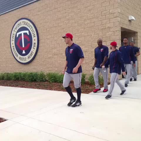 Vine by Twins - It begins! First full squad workouts start now. #TwinsST