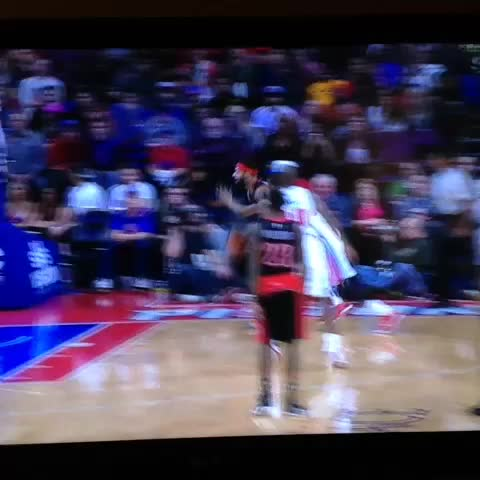 James Johnson over Andre Drummond, tho - Vine by Bruce Arthur - James Johnson over Andre Drummond, tho