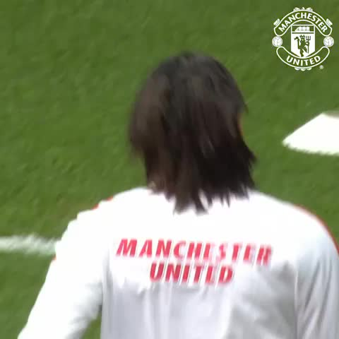 VINE: @Falcao warming up at Villa Park. Come on, United! #mufclive - Vine by Manchester United - VINE: @Falcao warming up at Villa Park. Come on, United! #mufclive