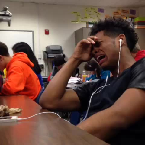 Vine by TypicalCarlos - When you on pandora in class and drake comes on.