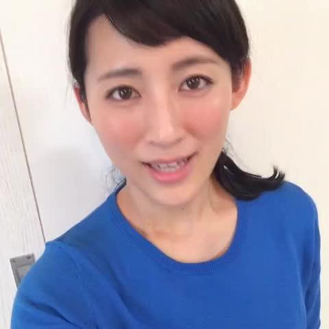 福田彩乃青い