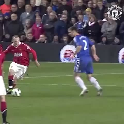 Vine by Manchester United - Wayne Rooney has scored four goals at Stamford Bridge, including this effort from 2011. #mufc