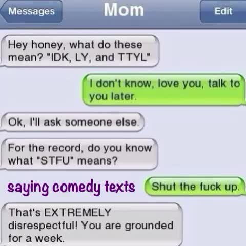 What does stfu mean in text