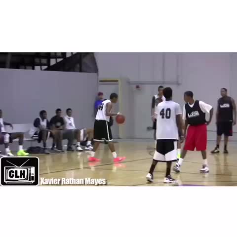 Xavier sends the defender flying!???? Dont forget to Like & Revine! - Vine by Hoop Vine - Xavier sends the defender flying!😂 Dont forget to Like & Revine!
