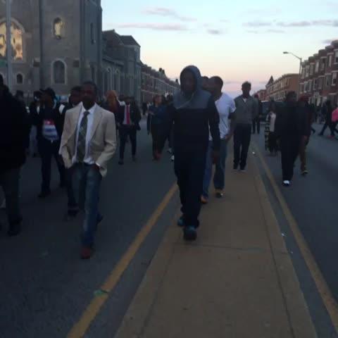 Vine by Netta - Baltimore. #FreddieGray