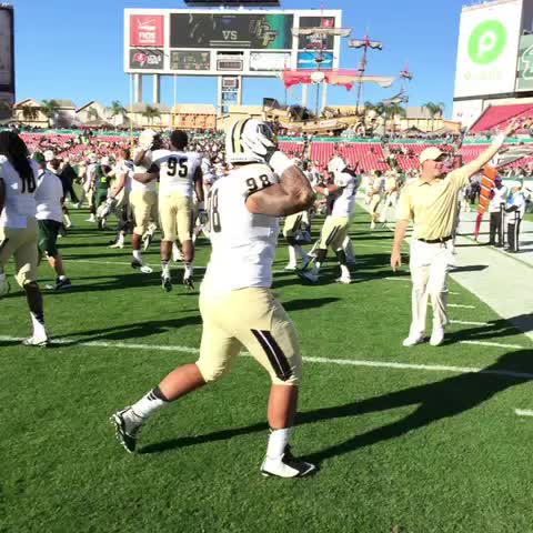 UCF Knightss post on Vine - 16-0! #UCFvsUSF #ChargeOn #TakeoverTampa - UCF Knightss post on Vine