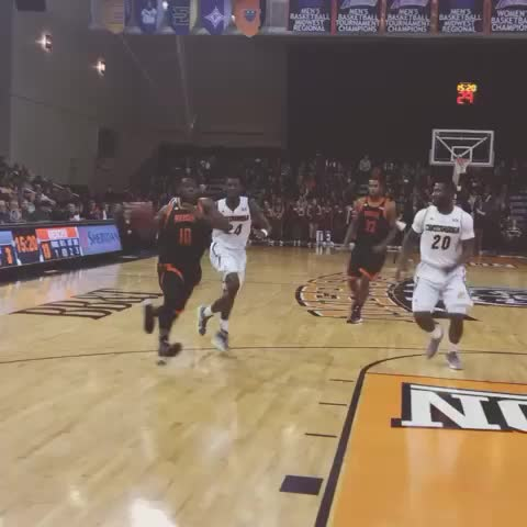 Vine by Mercer Bears - IKE NWAMU with an amazing dunk! #gobears #sctop10