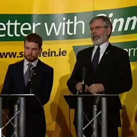 Vine by Fine Gael - Gerry Adams cant explain his own Partys economic policies. Sinn Féins plan would DESTROY the recovery and kill jobs.