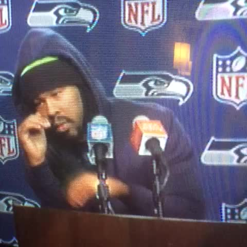 Vine by Bring Back The Buzz - The new Marshawn Lynch interview