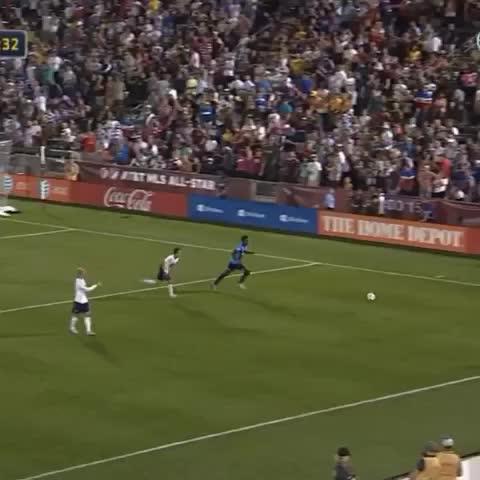Vine by MLS - Do it to him Ethan! #MLSAllStar
