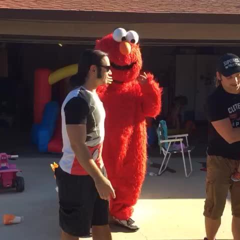 Tickle me Elmo. - Vine by The Young Bucks - Tickle me Elmo.