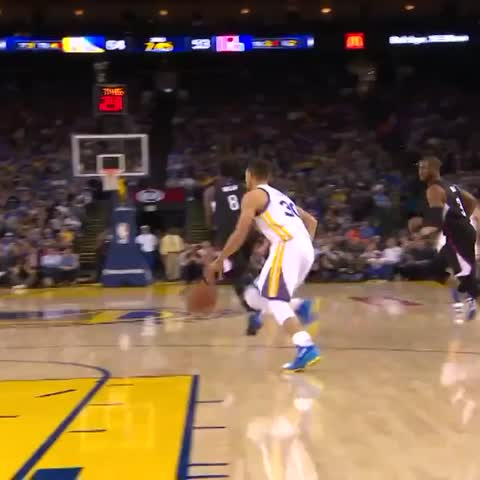 VIDEO: This Steph Curry Pass Defies Physics | 12up