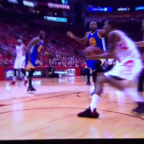 Vine by NBA Legion - Steph Curry is down...he took a hard fall...wow
