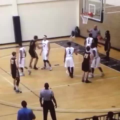 Vine by SCAC Sports - #SCtop10 dunk by Blake Scott of @supirates!