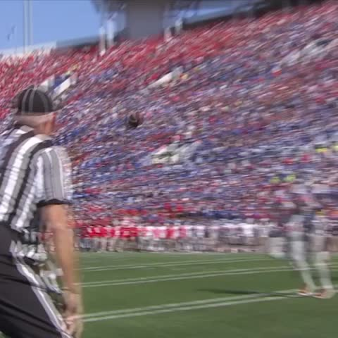 Vine by SportsCenter - Memphis scored 31 unanswered points against Ole Miss.