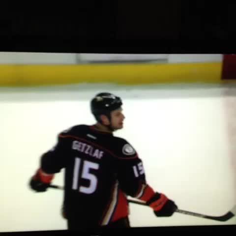 Watch Ryan Getzlaf throw his stick in anger - SBNation com