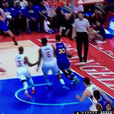 Vine by Andrew Bailey - Stephen Curry just ended Chris Paul. RIP, Chris. You had a good run...