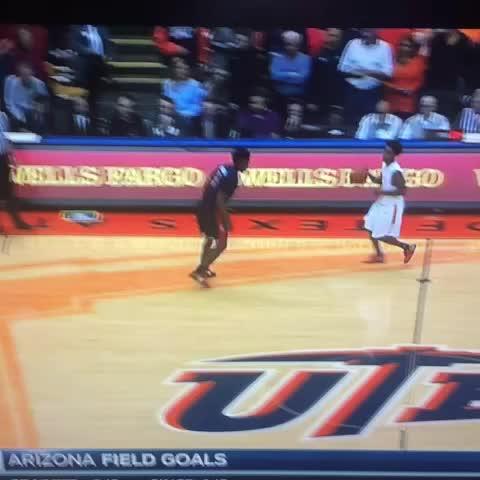 UTEPs Omega Harris puts Arizonas Stanley Johnson on skates✊???????? (Full Speed) - Vine by Jay-C Ovalles - UTEPs Omega Harris puts Arizonas Stanley Johnson on skates✊🔨🏀 (Full Speed)