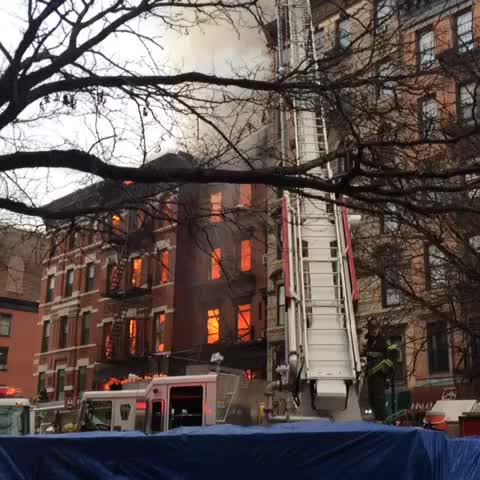 manhattan building collapse | explosion NYC