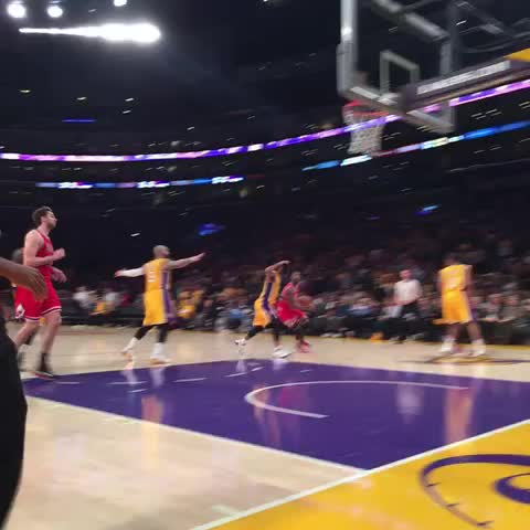 Vine by Lakers - Walking off with a Win.