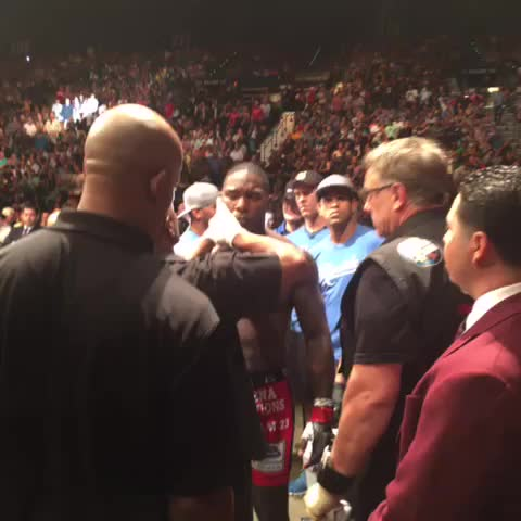 Vine by UFC - Rumble is ready #UFC187