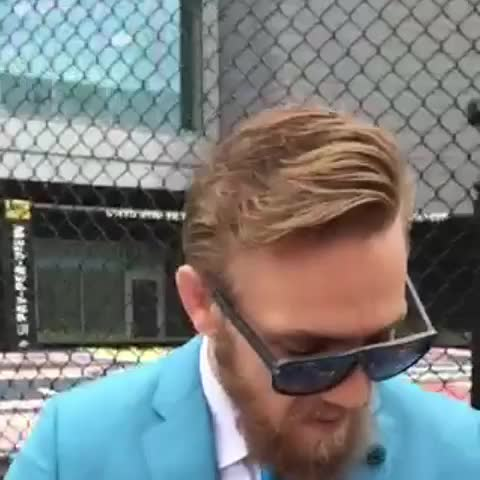 Vine by SportsCenter - The UFCs Conor McGregor is a man of simple tastes.
