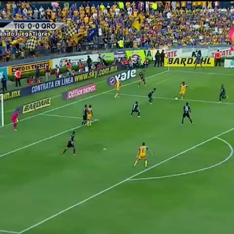 Golazo de Dueñas para abrir el marcador - Vine by Televisa Deportes - Golazo de Dueñas para abrir el marcador