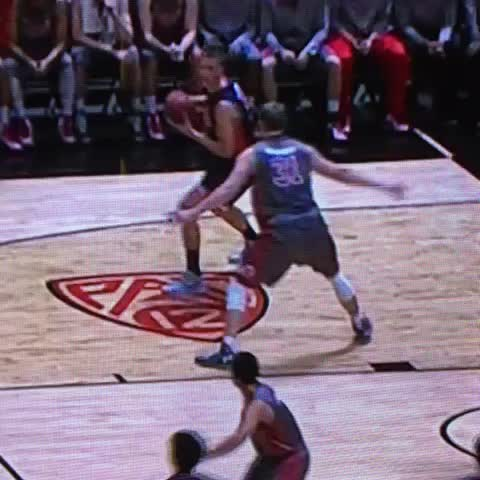 Vine by Rob Dauster - This is a joke. Its a flop, not an offensive foul. Stop rewarding this garbage.
