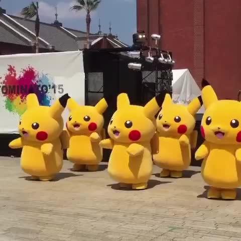 Watch Stephanie S Vine Quot Pikachu Dance Dancing Funny