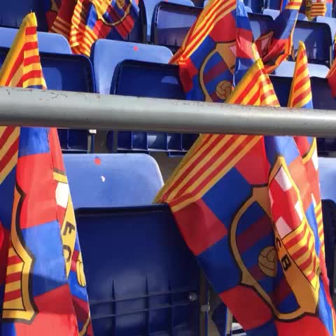 Vine by FC Barcelona - Camp Nou is ready. Are you? Força Barça! #CopaFCB #FCBLive #VineFCB