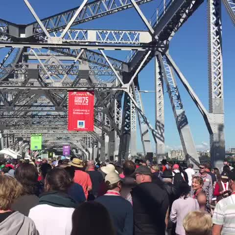 Vine by Patrick Williams - A #StoryBridge75 360. Warning: may make you dizzy ABC News